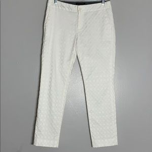 Banana Republic Factory Hampton Fit Textured Pants
